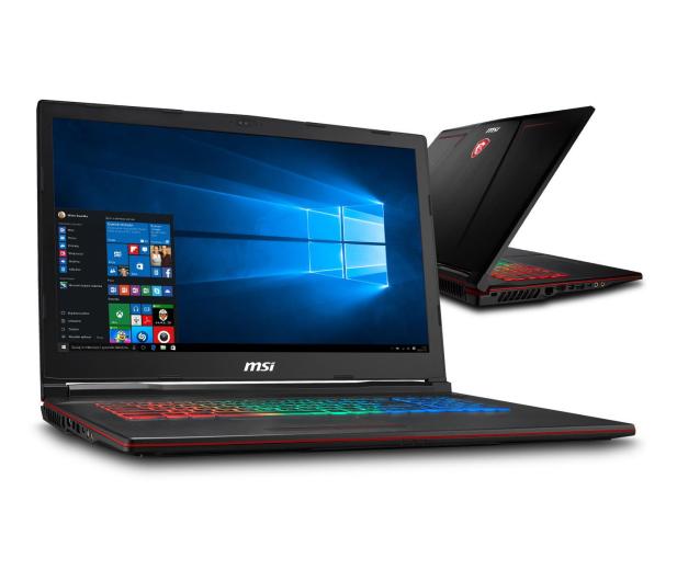 MSI GP73 i7-8750H/16GB/240+1TB/Win10X GTX1060  - 440135 - zdjęcie