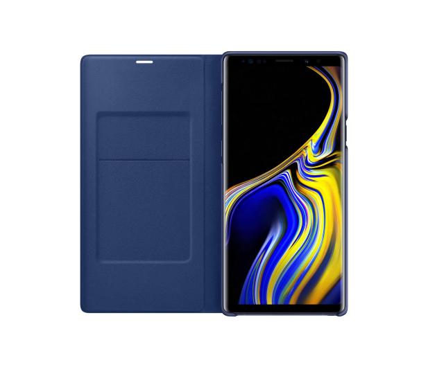 Samsung LED View Cover do Note 9 niebieskie  - 441247 - zdjęcie 4