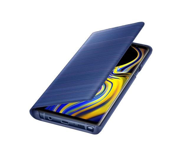 Samsung LED View Cover do Note 9 niebieskie  - 441247 - zdjęcie