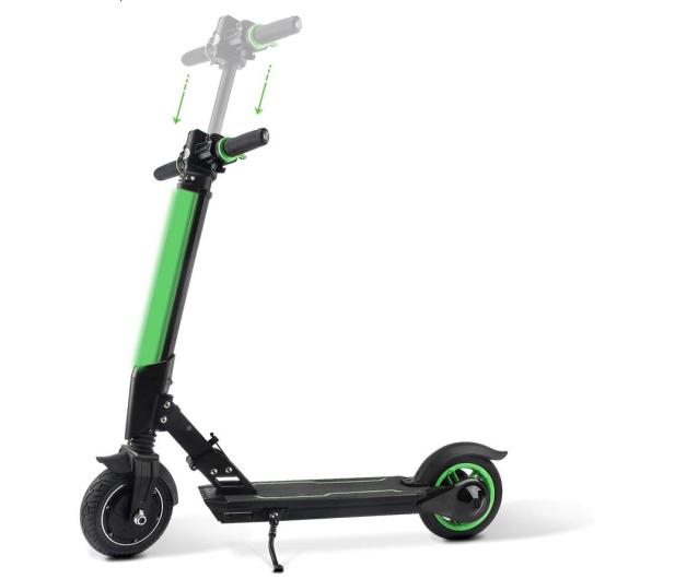 Koowheel E1 Zielona kolorowe oświetlenie  - 441857 - zdjęcie 4