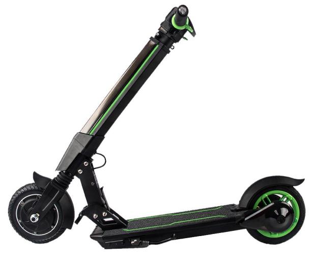 Koowheel E1 Zielona kolorowe oświetlenie  - 441857 - zdjęcie 5