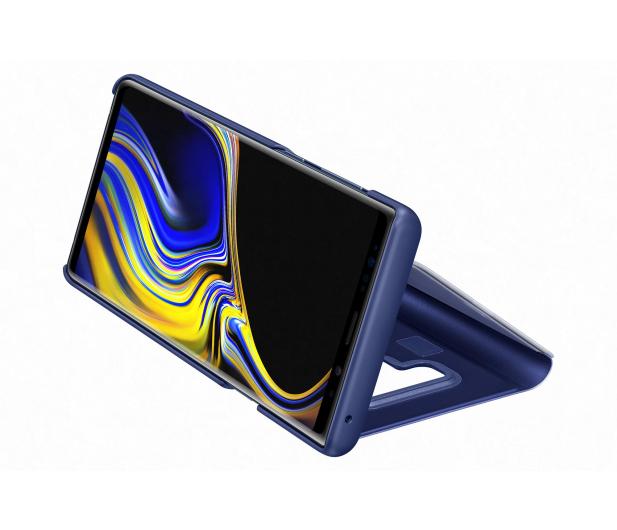 Samsung Clear View Standing Cover do Note 9 niebieski - 441242 - zdjęcie 6