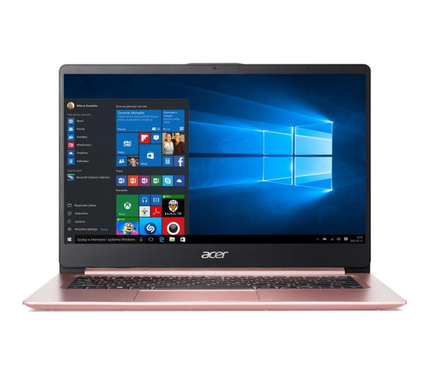 Acer Swift 1 N4000/4GB/120SSD+64/Win10 IPS FHD Różowy - 466495 - zdjęcie 3