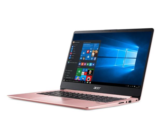 Acer Swift 1 N4000/4GB/120SSD+64/Win10 IPS FHD Różowy - 466495 - zdjęcie 2