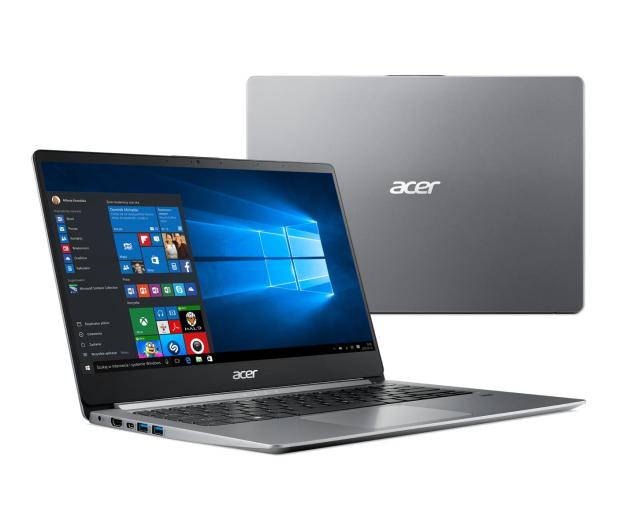 Acer Swift 1 N5000/4GB/240/Win10 IPS FHD srebrny - 466818 - zdjęcie