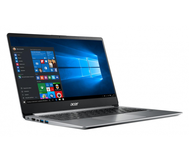 Acer Swift 1 N5000/4GB/240/Win10 IPS FHD srebrny - 466818 - zdjęcie 4