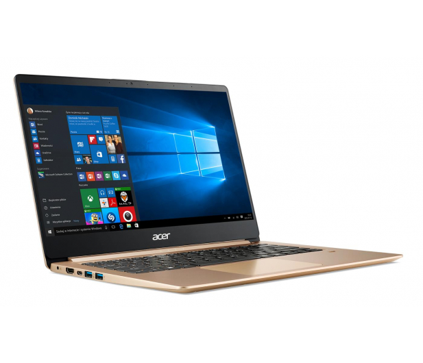 Acer Swift 1 N5000/4GB/240/Win10 IPS FHD złoty - 488053 - zdjęcie 9