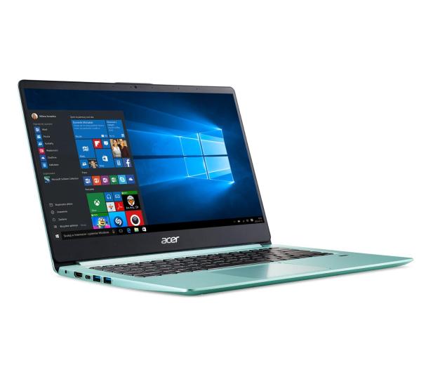 Acer Swift 1 N5000/4GB/128/Win10 IPS FHD Zielony - 494757 - zdjęcie 9