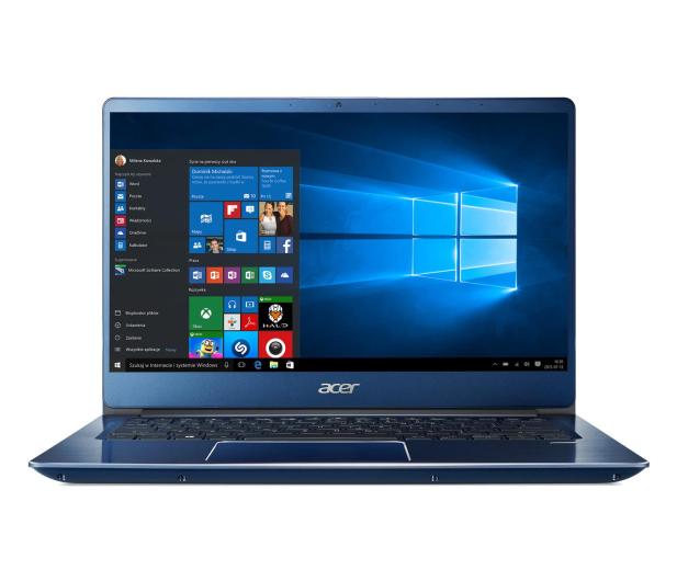Acer Swift 3 i3-8145U/8GB/256/Win10 FHD IPS Niebieski - 498089 - zdjęcie 2