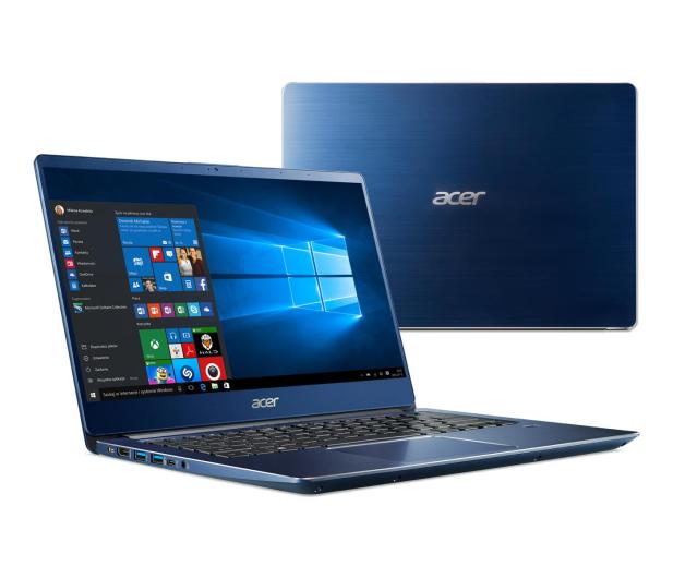 Acer Swift 3 i3-8145U/8GB/256/Win10 FHD IPS Niebieski - 498089 - zdjęcie