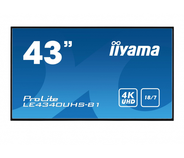 iiyama LE4340UHS LFD 4K - 443916 - zdjęcie