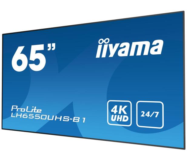 iiyama LH6550UHS LFD 4K - 443979 - zdjęcie 2
