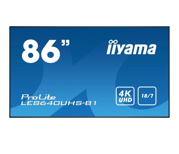 iiyama LE8640UHS LFD - 443967 - zdjęcie