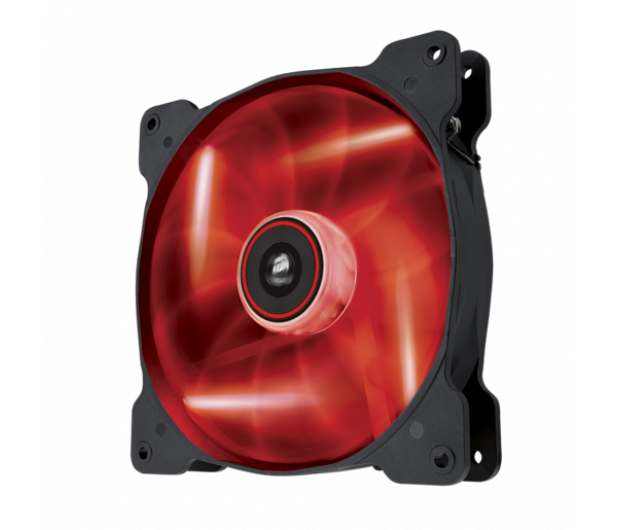 Corsair AF140 High Airflow Fan 140mm czerwony LED - 444178 - zdjęcie