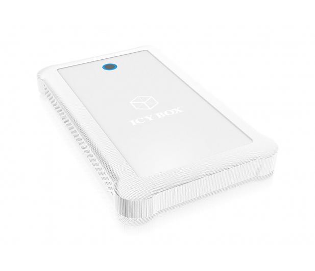 """ICY BOX Obudowa do dysku 2.5"""" (USB 3.0, biały)  - 444688 - zdjęcie"""