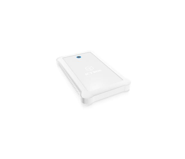 """ICY BOX Obudowa do dysku 2.5"""" (USB 3.0, biały)  - 444688 - zdjęcie 3"""