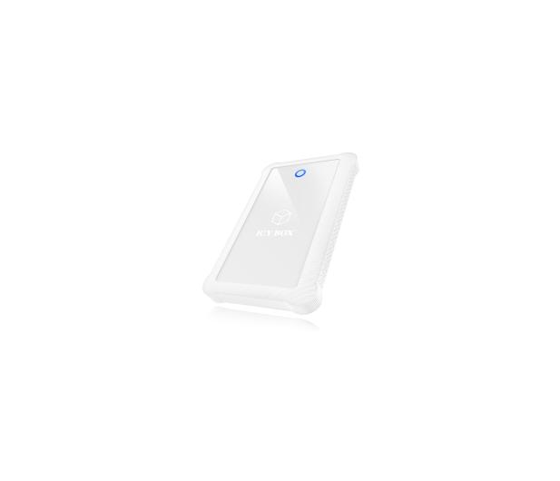 """ICY BOX Obudowa do dysku 2.5"""" (USB 3.0, biały)  - 444688 - zdjęcie 5"""