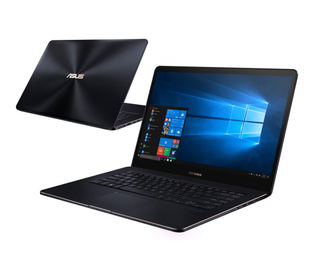 ASUS ZenBook Pro UX550GE i7-8750H/16GB/512PCIe/Win10P  - 497679 - zdjęcie