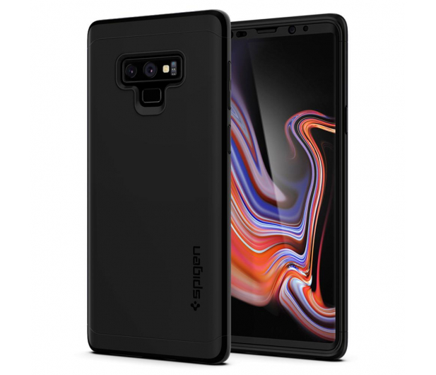 Spigen Thin Fit 360 do Galaxy Note 9 Black - 445153 - zdjęcie