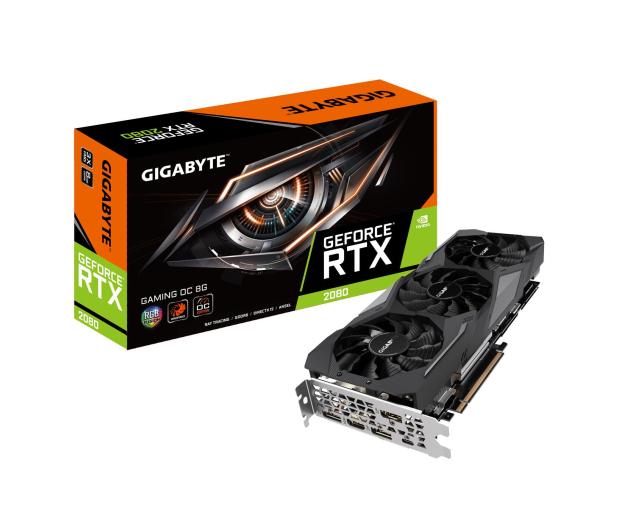 Gigabyte GeForce RTX 2080 GAMING OC 8GB GDDR6 - 445413 - zdjęcie