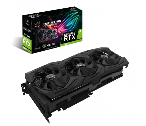 ASUS GeForce RTX 2080 ROG STRIX 8GB GDDR6 - 445395 - zdjęcie