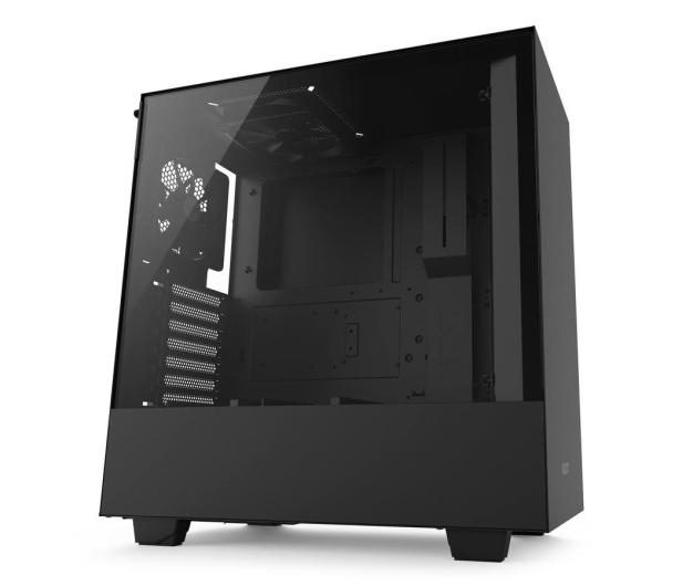 NZXT H500 matowa czarna - 442365 - zdjęcie 2