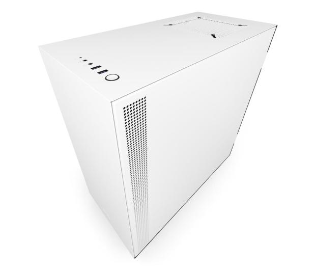 NZXT H500 matowa biała - 442367 - zdjęcie 5