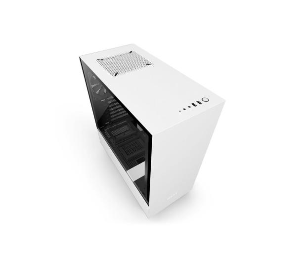 NZXT H500 matowa biała - 442367 - zdjęcie