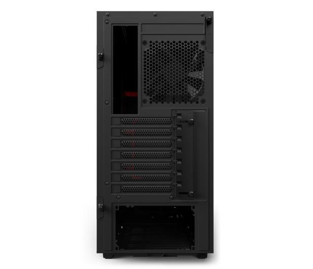 NZXT H500 matowa czarna/czerwona - 442362 - zdjęcie 8