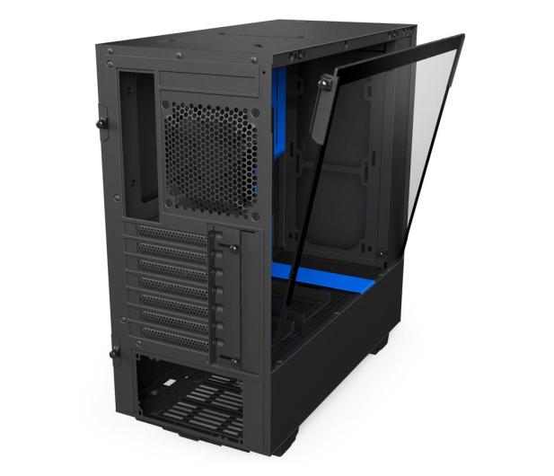 NZXT H500 matowa czarna/niebieska - 442360 - zdjęcie 6