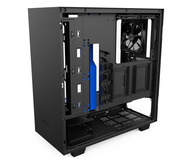 NZXT H500 matowa czarna/niebieska - 442360 - zdjęcie 8