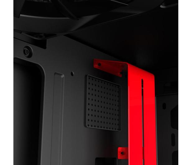 NZXT H500i matowa czarna/czerwona - 442355 - zdjęcie 8