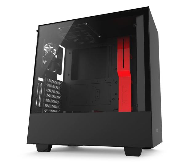 NZXT H500i matowa czarna/czerwona - 442355 - zdjęcie 2