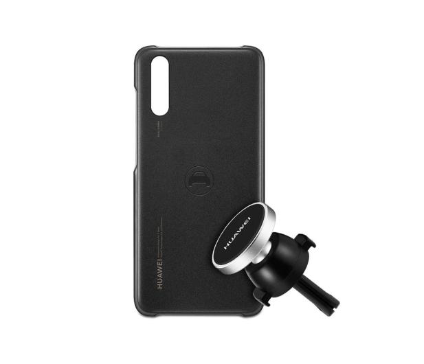 Huawei Car Kit do Huawei P20 Etui + Uchwyt Magnetyczny - 444614 - zdjęcie