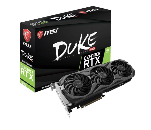 MSI GeForce RTX 2080 DUKE 8G OC 8GB GDDR6 - 445378 - zdjęcie
