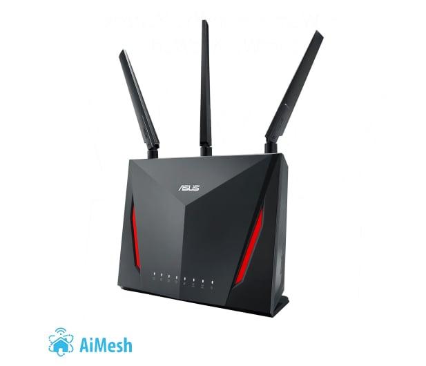ASUS RT-AC86U (2900Mb/s a/b/g/n/ac, 2xUSB 3G/4G, QAM) - 381671 - zdjęcie