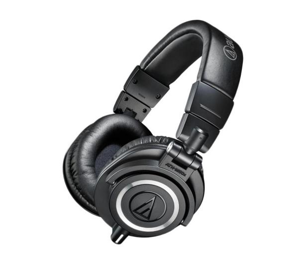 Audio-Technica ATH-M50X Czarny - 413144 - zdjęcie