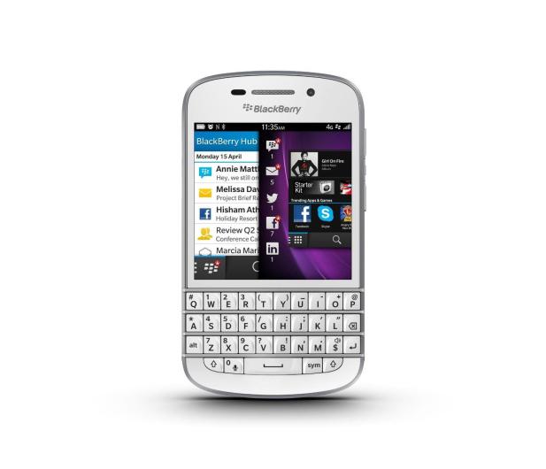 BlackBerry Q10 16GB LTE biały - 443310 - zdjęcie 8