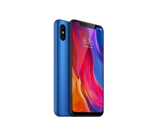 Xiaomi Mi 8 6/64GB Blue - 445642 - zdjęcie 4