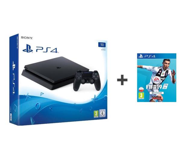 Sony Playstation 4 Slim 1TB + FIFA 19 - 436879 - zdjęcie