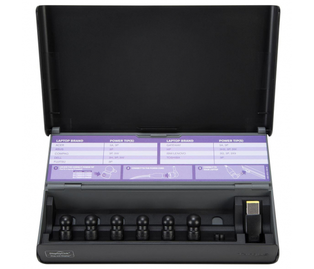 Targus USB - USB, USB-C, HDMI, RJ-45, DVI - 442931 - zdjęcie 5