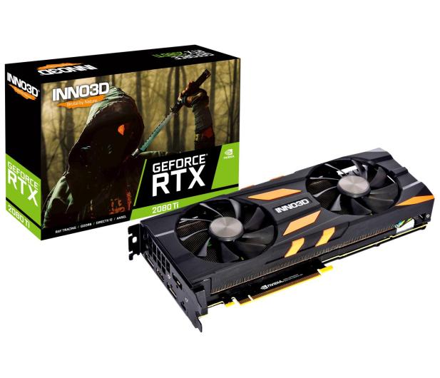 Inno3D GeForce RTX 2080 Ti X2 OC 11GB GDDR6 - 446097 - zdjęcie