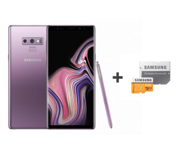 Samsung Galaxy Note 9 N960F Dual SIM 6/128 Purple + 256GB - 446206 - zdjęcie