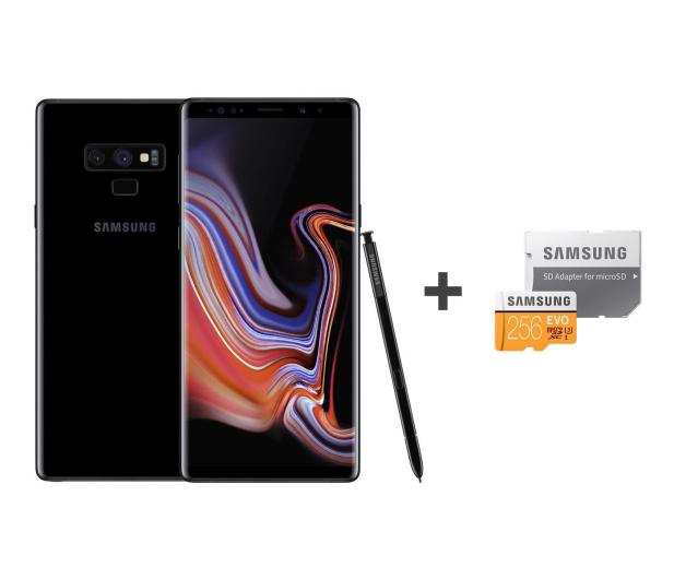Samsung Galaxy Note 9 N960F 6/128 Midnight Black + 256GB  - 446201 - zdjęcie