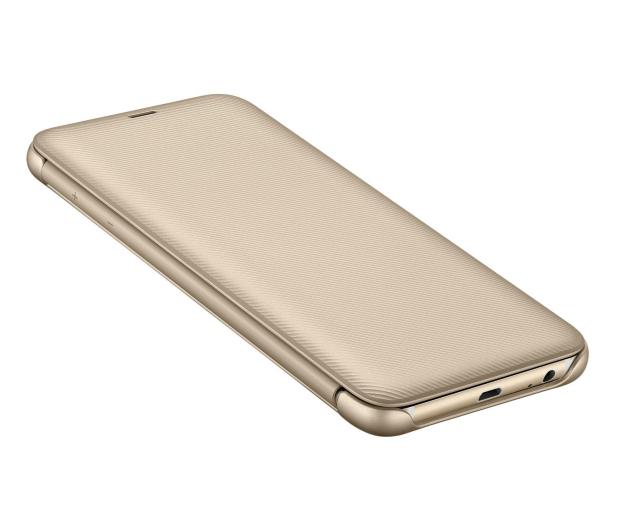 Samsung Wallet Cover do Samsung Galaxy A6+ złoty - 444720 - zdjęcie 5