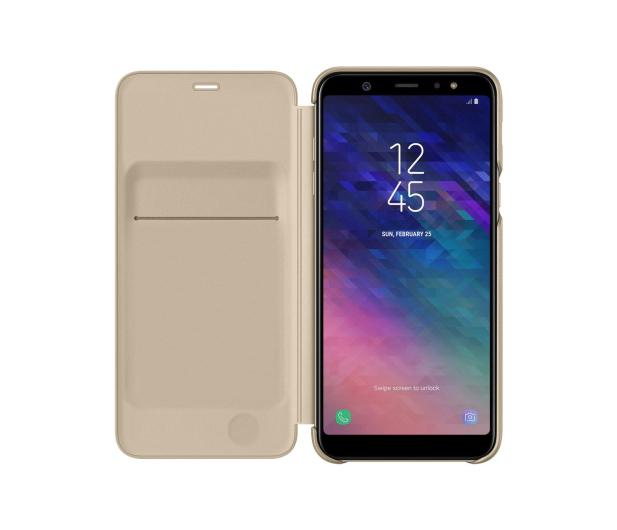 Samsung Wallet Cover do Samsung Galaxy A6+ złoty - 444720 - zdjęcie 3
