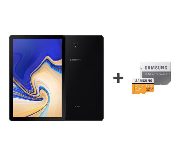 Samsung Galaxy Tab S4 10.5 T830 4/64GB WiFi Black + 64GB - 446877 - zdjęcie