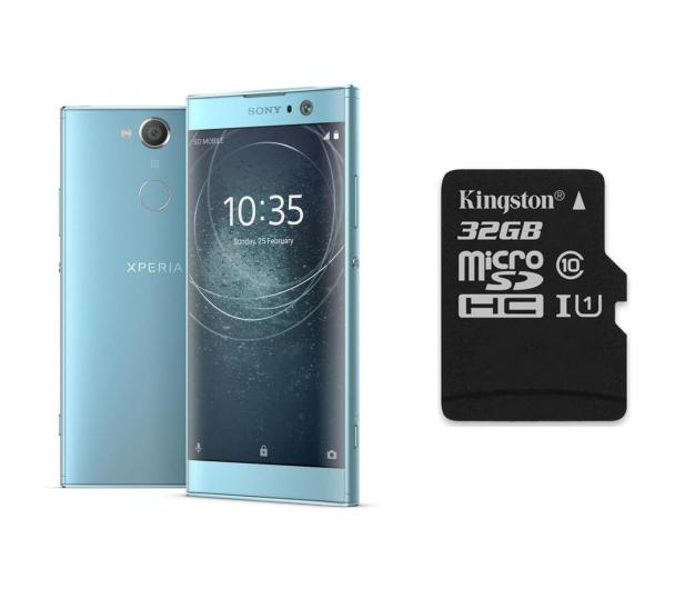 Sony Xperia XA2 H4113 3/32GB Dual SIM niebieski + 32GB - 430780 - zdjęcie