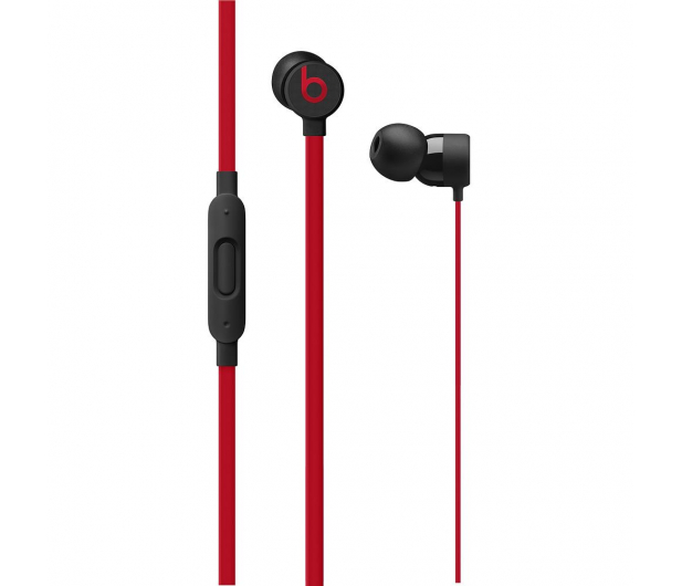 Apple urBeats3 ze złaczem jack 3.5mm czarno - czerwone  - 446905 - zdjęcie