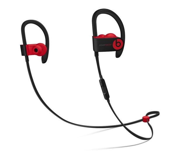Apple Powerbeats3 czarno - czerwone  - 446927 - zdjęcie
